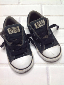 Converse Black & Green Sneakers