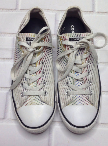 Converse Off-White & Gold Sneakers
