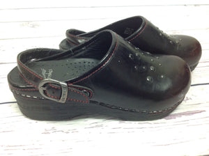 Dansko Black & Red Shoes