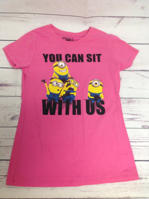 Despicable Me PINK PRINT Minions Top