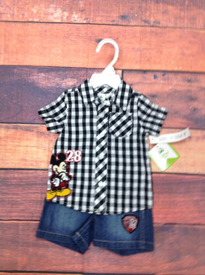 Disney Baby Multi-Color 2 PC Outfit