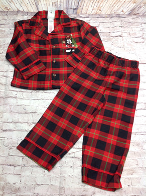 Disney Red & Black Pajamas -