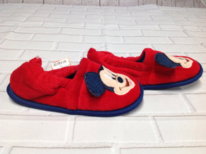 Disney Store Red & Navy Slippers
