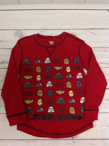 Disney Store Red Star Wars Top