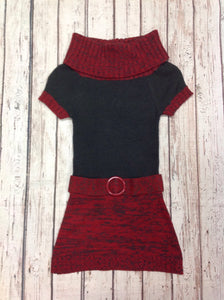 Doll Clothes Store RED & GRAY Dress