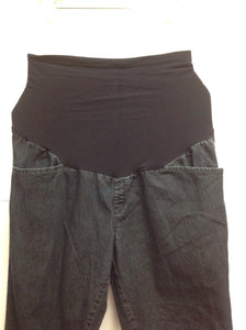 Size MAT LARGE Duo Maternity Denim Shorts