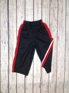 Faded Glory Black & Red Pants