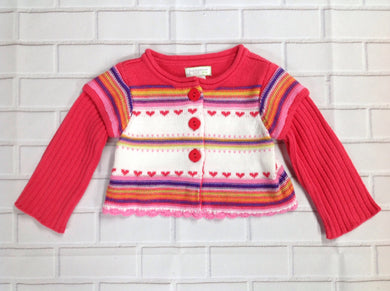 First Impressions Multi-Color Sweater