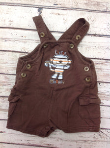 First Moments Brown Shortalls