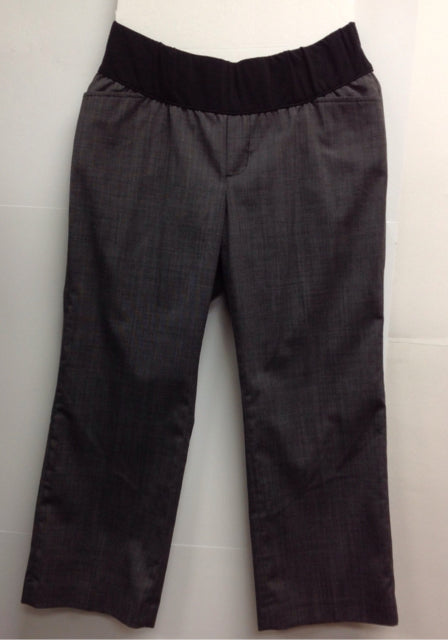 Gap Maternity Gray & Black Capri