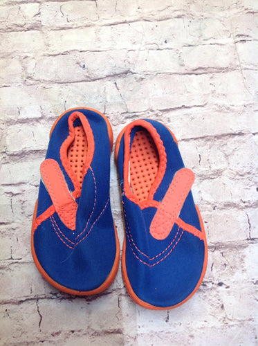 Garanimals BLUE & ORANGE Swimshoes
