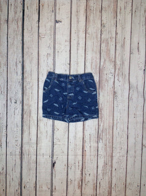 Garanimals Denim Print Shorts