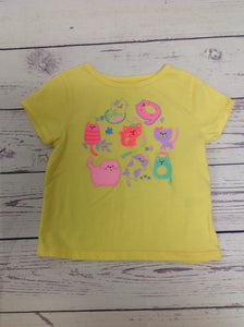 Garanimals Yellow Print Top