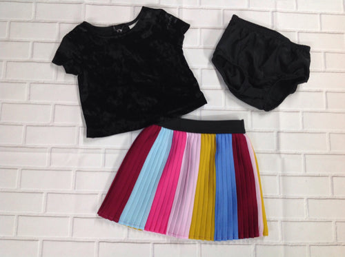 Genuine Kids Yellow & Black 3 PC Outfit