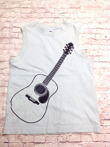 Gymboree Baby Blue Guitar Top