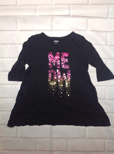 Gymboree Black Print Top