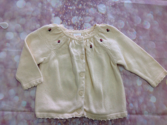 Gymboree CREAM PRINT Sweater