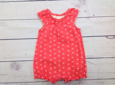 Gymboree Coral One Piece