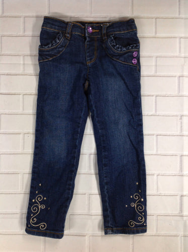 Gymboree Denim Print Jeans