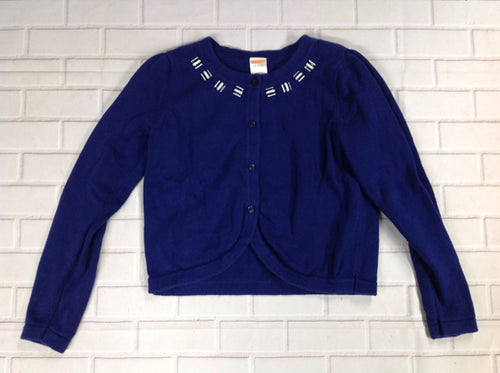 Gymboree Navy Print Sweater