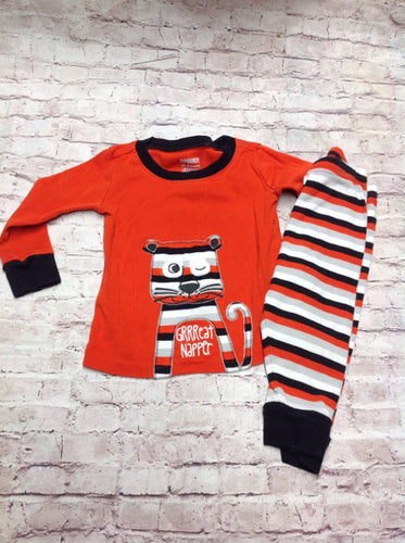 Gymboree ORANGE & BLACK Sleepwear
