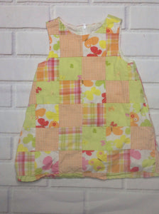 Gymboree Orange & Green Dress