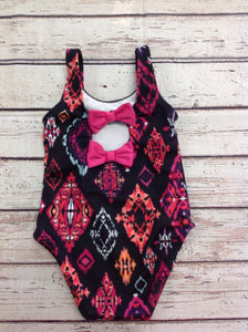 Gymboree Outlet Black Print Swimwear