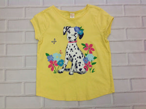 Gymboree Outlet Yellow Print Top