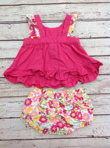 Gymboree PINK PRINT 2 PC Outfit