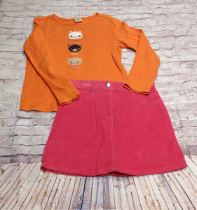 Gymboree Pink & Orange 2 pc Set