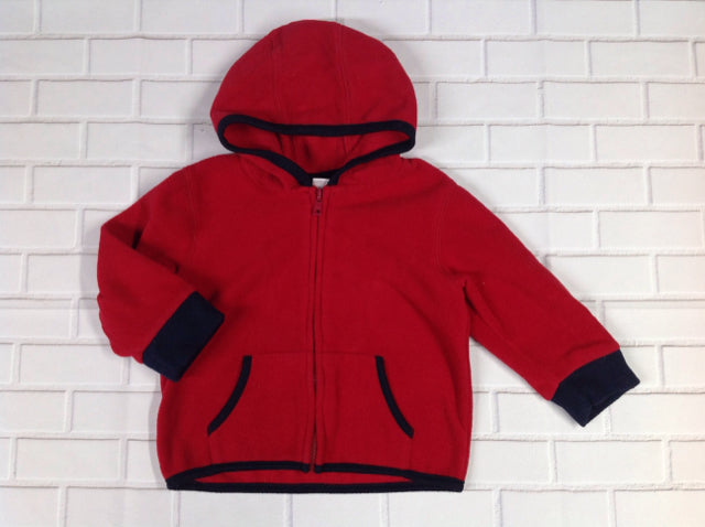 Gymboree Red & Black zip jacket Top