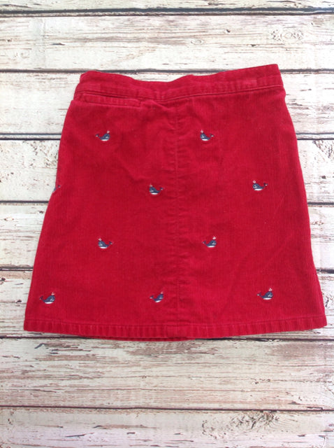 Gymboree Red Skirt