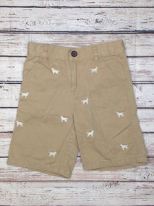 Gymboree TAN PRINT Dogs Shorts