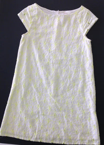 Gymboree White & Yellow Dress