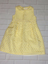 Gymboree Yellow & White Dress