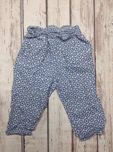 H & M Blue & White Pants