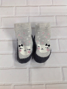 H & M GRAY PRINT IG Footwear Slippers