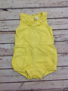 H & M Yellow One Piece