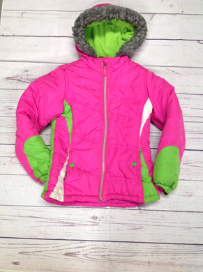HAWKE & CO. Pink & Green Jacket