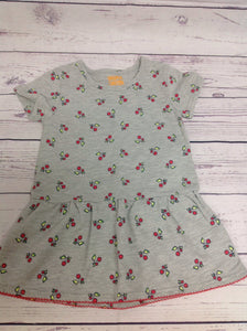 Harper Canyon GRAY PRINT Cherries Dress