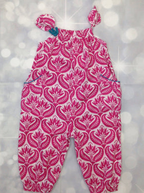 Hatley Pink & White One Piece