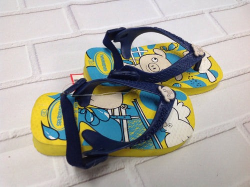 Havanna Co. BLUE & YELLOW Sandals