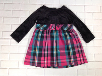 Healthtex Black & Pink Dress