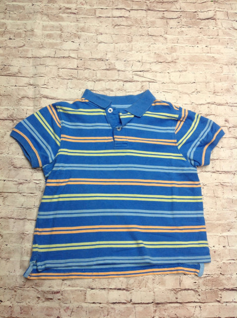 JK BLUE & YELLOW Stripe Top