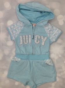 JUICY COUTORE Blue One Piece