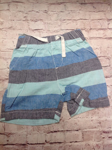 JUMPING BEANS Baby Blue & Gray Shorts