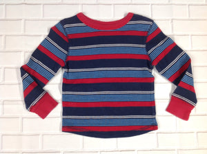 JUMPING BEANS Blue & Red Top