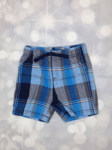 JUMPING BEANS Blue Print Shorts