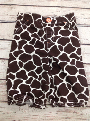 JUMPING BEANS Brown & White Capris