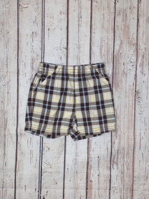 JUMPING BEANS Brown Print Shorts